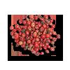 épices: poivre rose