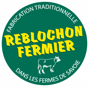 Logo reblochon fermier AOP