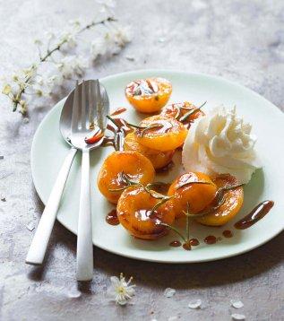 abricots chantilly