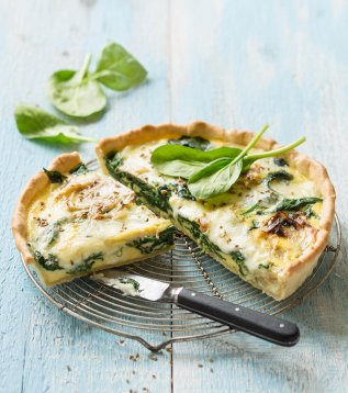 voir la recette Tarte Reblochon, fenouil et epinards