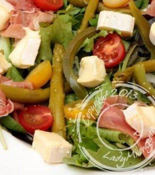 salade printanière au reblochon de savoie
