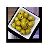 Olives vertes aux amandes