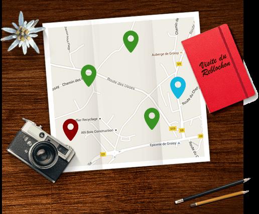Discover the Reblochon's map