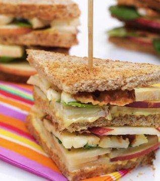 Club sandwich au Reblochon de Savoie
