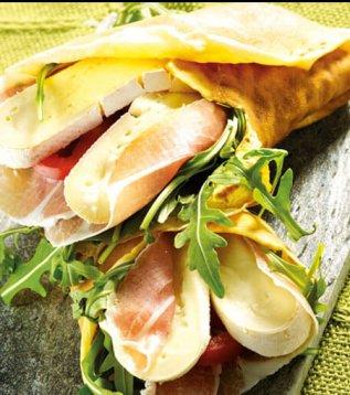 crepe des alpages reblochon de savoie