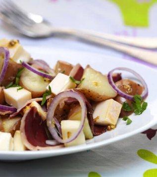 salade de pomme de terre au reblochon