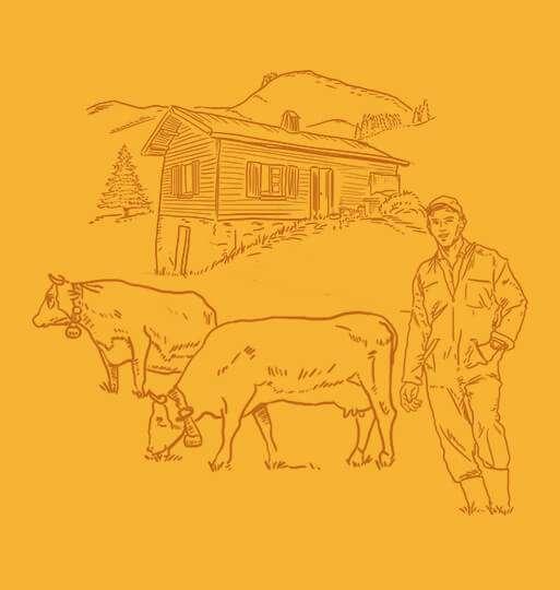 Florent, producteur de lait reblochon