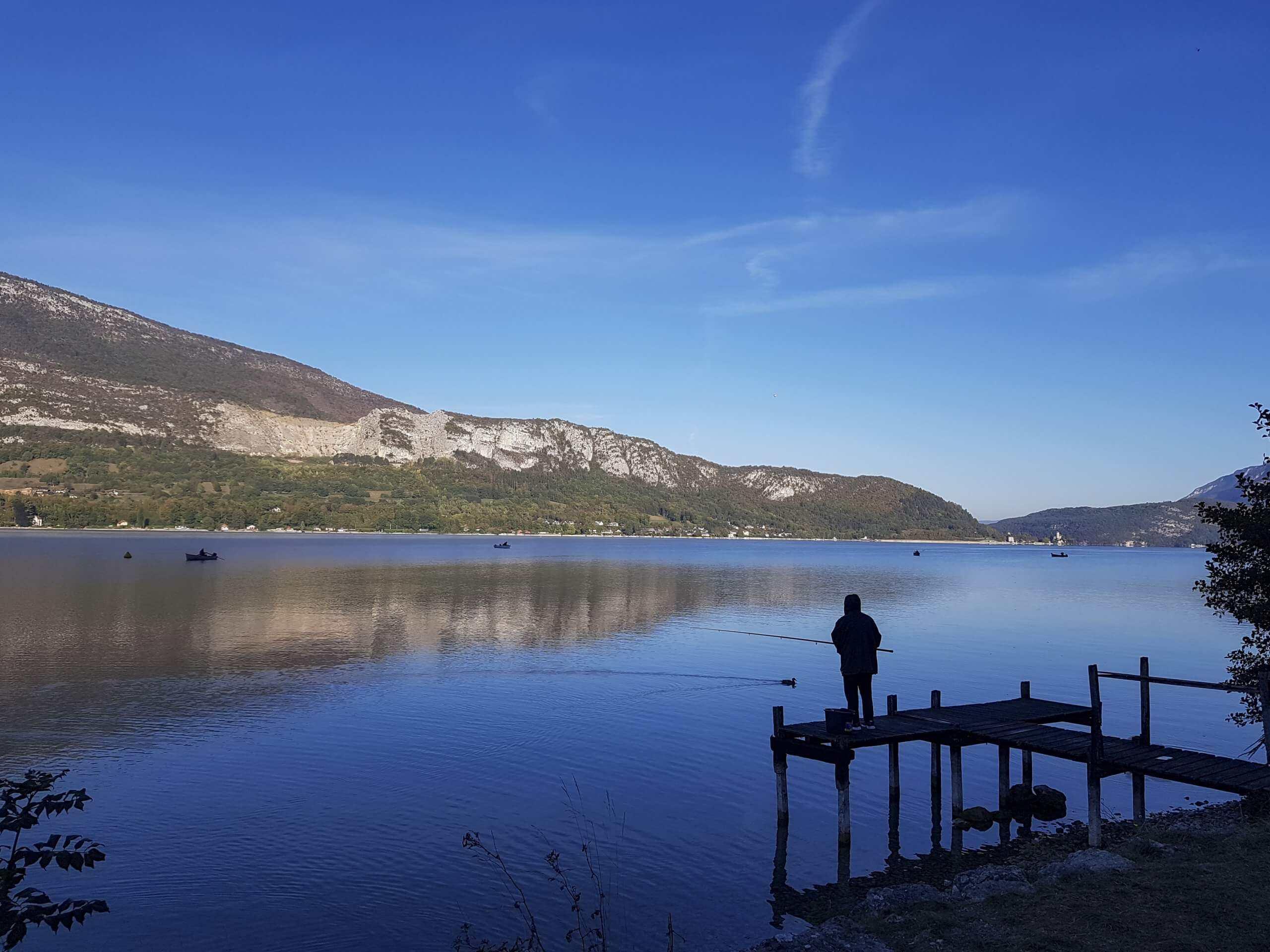 peche lac annecy